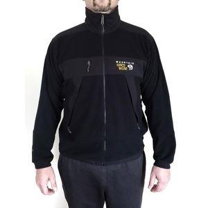 MOUNTAIN HARDWEAR Windstopper fleece tech jacket L